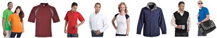 promotional corporate branded clothing. Suppliers of corporate and promotional clothing as well as caps, pens, bags, keyrings, umbrellas etc.  Embroidered garments and headwear. Promotional gifts, corporate gifts. Computer gadgets. Kids clothing.  Work wear - branded safety wear, t-shirts, jackets, shirts, Hospitality clothing - chefs clothing, aprons. Barron Clothing.  Corporate gifts and clothing. T Shirt printing. Embroidery. Promotional clothing.