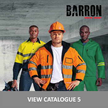 barron workwear range for branding and customisation in cape town south africa