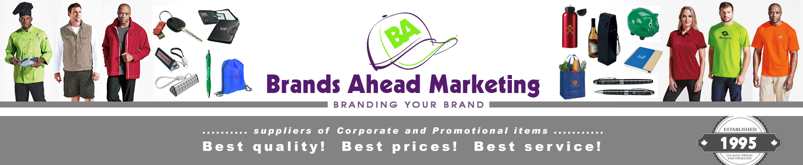 brands ahead marketing for promotional items corporate gifts and branded apparel clothing